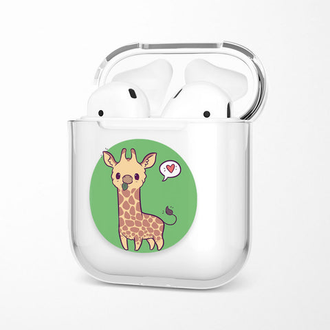 Coque Airpods <br> Girafe