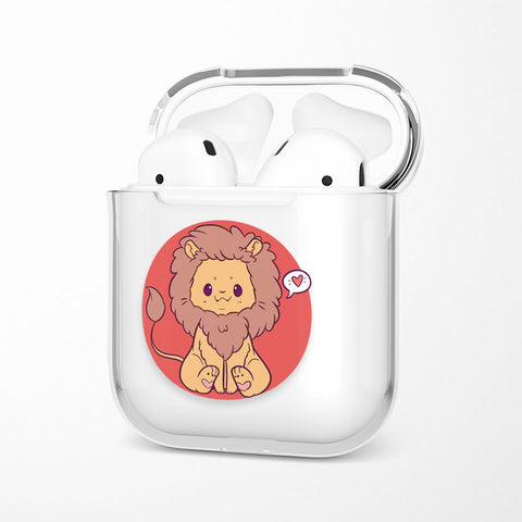 Coque Airpods <br> Lion