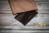 Cordovan Cardholder - Dark Brown