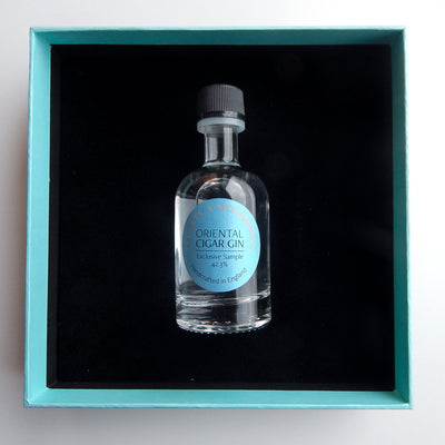 Luxury gift set – The whole picture, gin, cigar and book