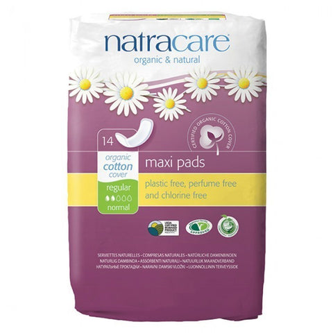 COMPRESAS NATURALES NATRACARE