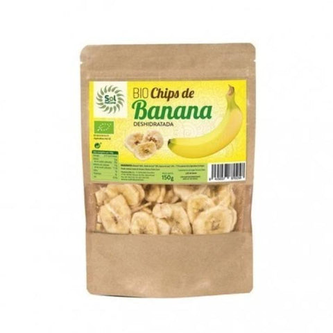 CHIPS DE BANANA DESHIDRATADA SOL NATURAL