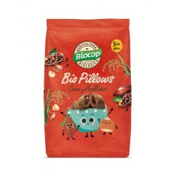 BIO PILLOWS CHOCOLATE Y AVELLANAS SIN GLUTEN BIOCOP