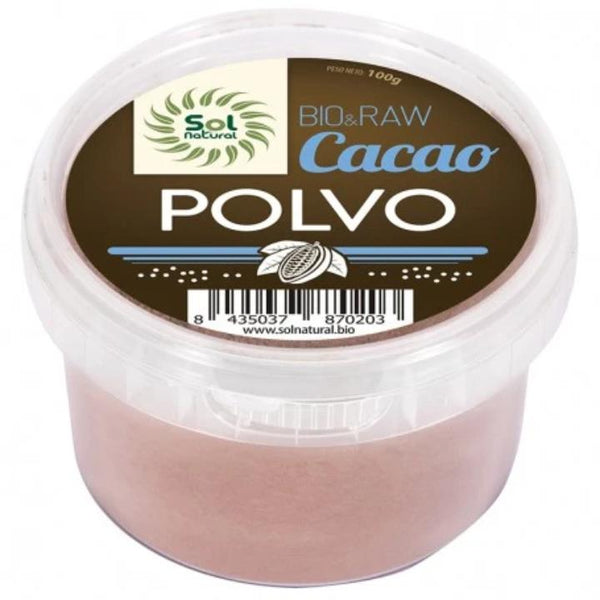 CACAO EN POLVO BIO & RAW SOL NATURAL