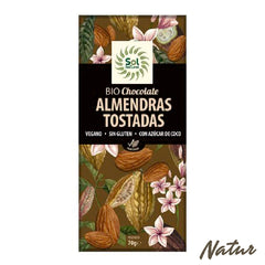 CHOCOLATE ALMENDRAS TOSTADAS SOL NATURAL