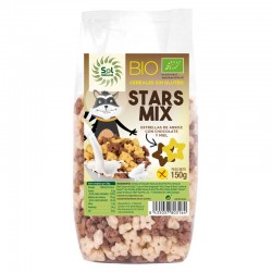 STARS MIX CHOCO-MIEL SIN GLUTEN BIO  SOL NATURAL