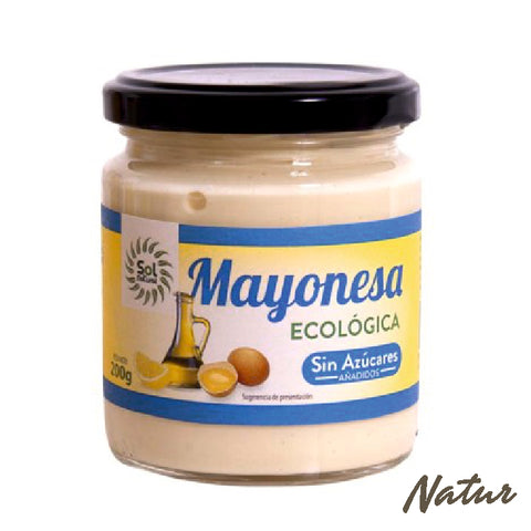 MAYONESA SOL NATURAL 200 GR