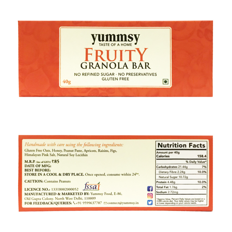 Assorted 6 Bars - Berries + Seeds + Choco-Nutty + Power + Choco-Berry + Fruity