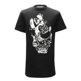 MASH UP MICKEY T-SHIRT (BLACK)