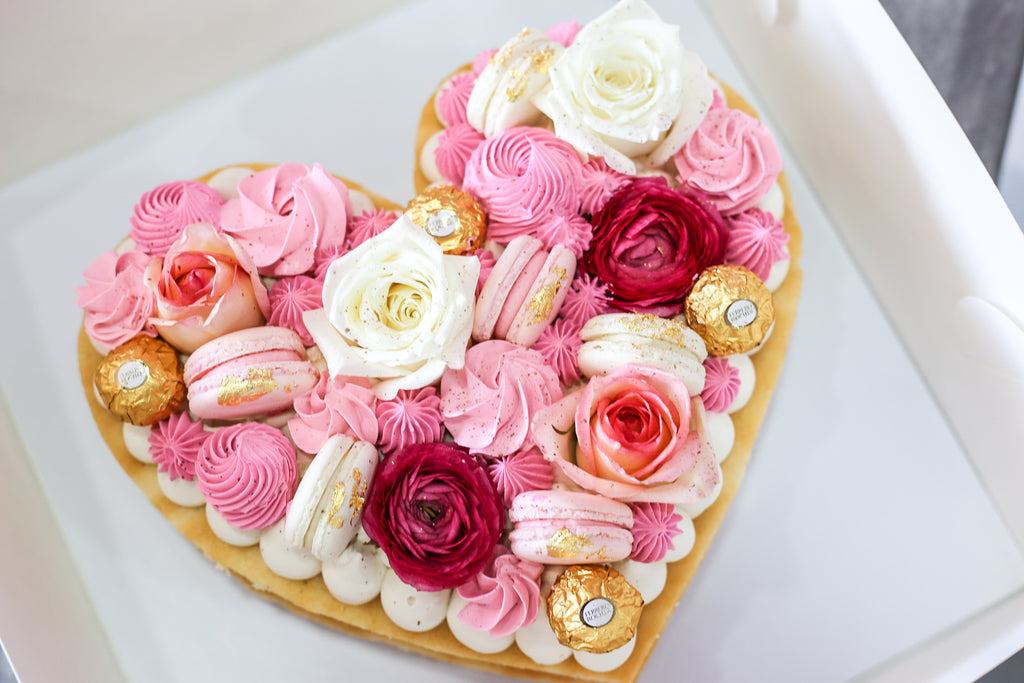 Love Heart Cake (Minimum 3 days Required)