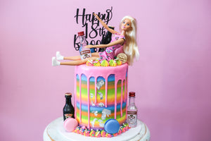 Barbie Cake (7 days Required)