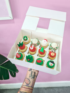 Christmas Cupcakes (pre-orders close 19th Dec)