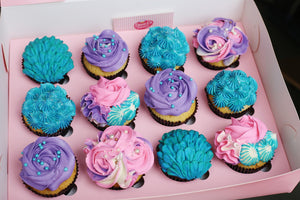 Mermaid Cupcakes (1 day minimum required)