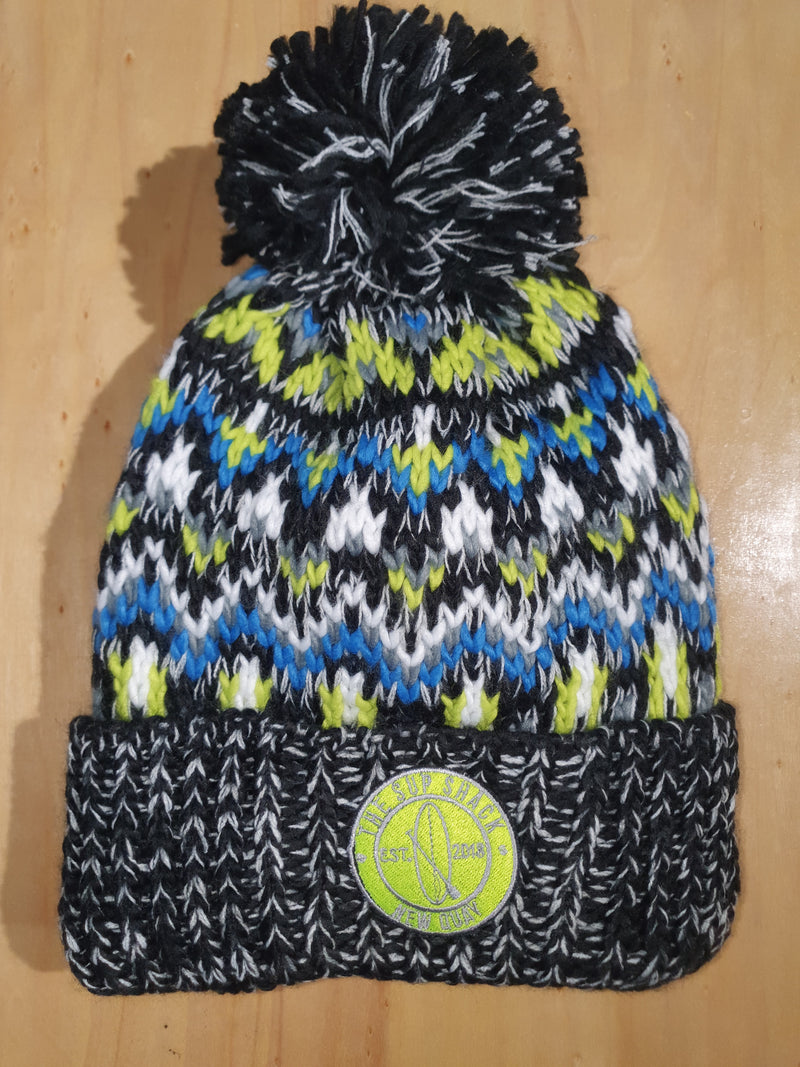 Sup Shack Blizzard Black Zing Beanie