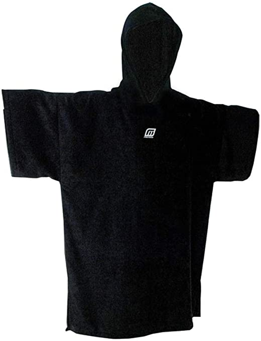 Madness Surf Poncho in Black