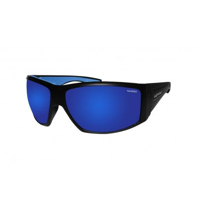 AHI-BOMB ( BLUE MIRROR POLARIZED/MATTE BLACK )