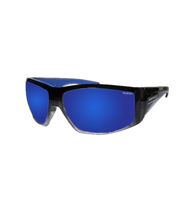 AHI-BOMB ( BLUE MIRROR POLARIZED/ 2-TONE CRYSTAL SMOKE )