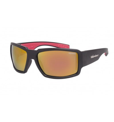 BOOGIE-BOMB ( RED MIRROR POLARIZED/MATTE BLACK )