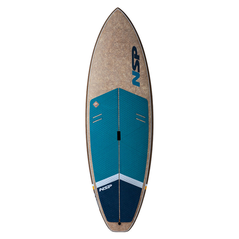 NSP 8'7 Cocflax DC Surf Wide Sup with Free Travel Bag!!!