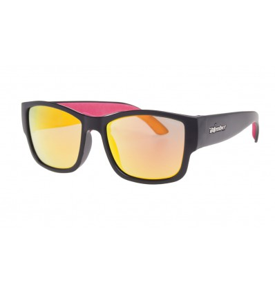 GOMER-BOMB ( RED MIRROR POLARIZED/MATTE BLACK )