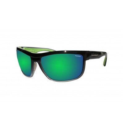 HUB-BOMB ( GREEN MIRROR POLARIZED/  2-TONE CRYSTAL SMOKE )