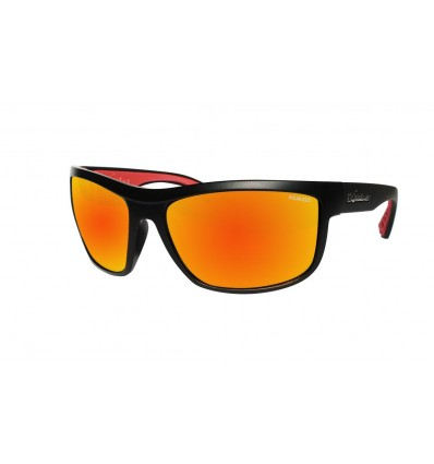 HUB-BOMB ( RED MIRROR POLARIZED/MATTE BLACK )