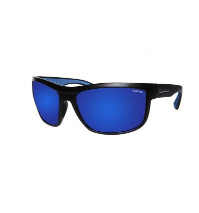 HUB-BOMB ( BLUE MIRROR POLARIZED/MATTE BLACK )