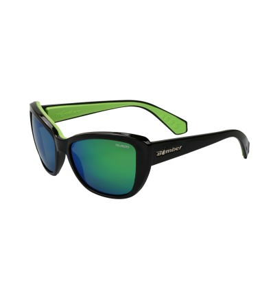 LA-BOMBA ( GREEN MIRROR POLARIZED/ BLACK )