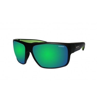 MANA-BOMB ( GREEN MIRROR POLARIZED/ BLACK )