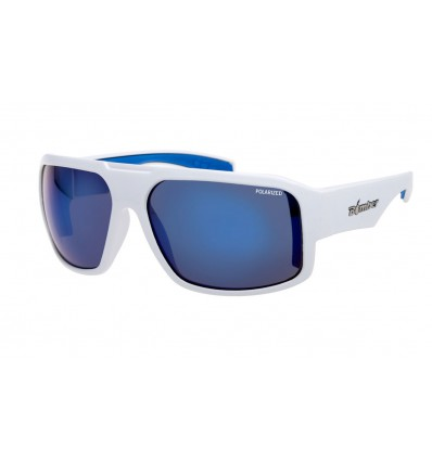 MEGA-BOMB ( BLUE MIRROR POLARIZED/GLOSSY WHITE )