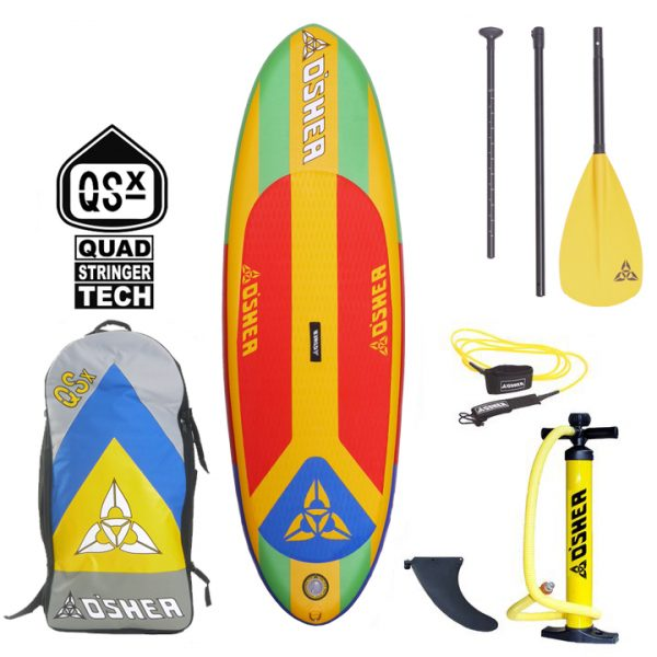 Oshea Grom Kids Inflatable Paddleboard Package