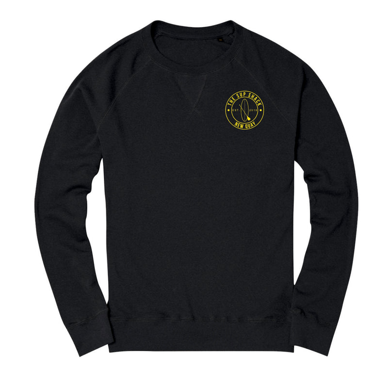 Sup Shack Sweater Black Melange