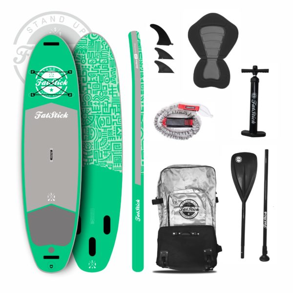 Fatsticks Snot Rocket 10'6 Inflatable Paddleboard Package