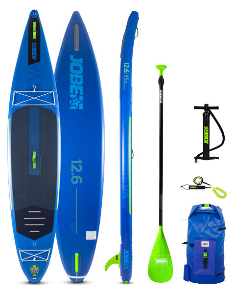 JOBE NEVA 2021 12.6 INFLATABLE PADDLE BOARD PACKAGE