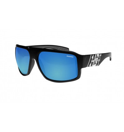 MEGA-BOMB ( BLUE MIRROR POLARIZED/MATTE BLACK/MAUI )