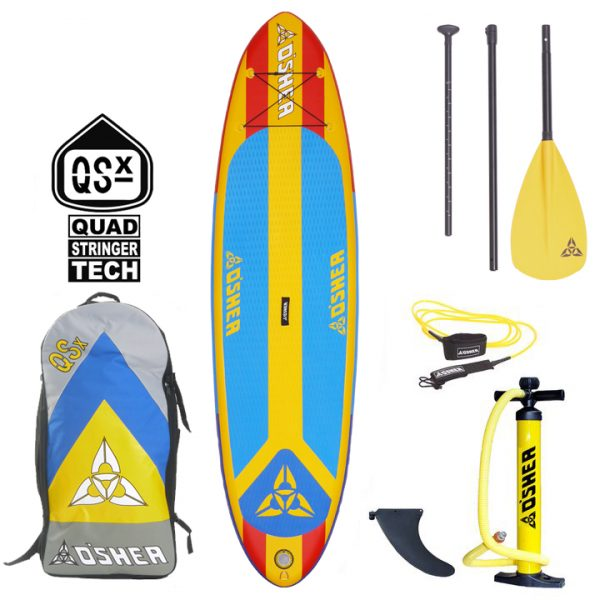 OSHEA QSX 10'6 PADDLEBOARD FULL PACKAGE