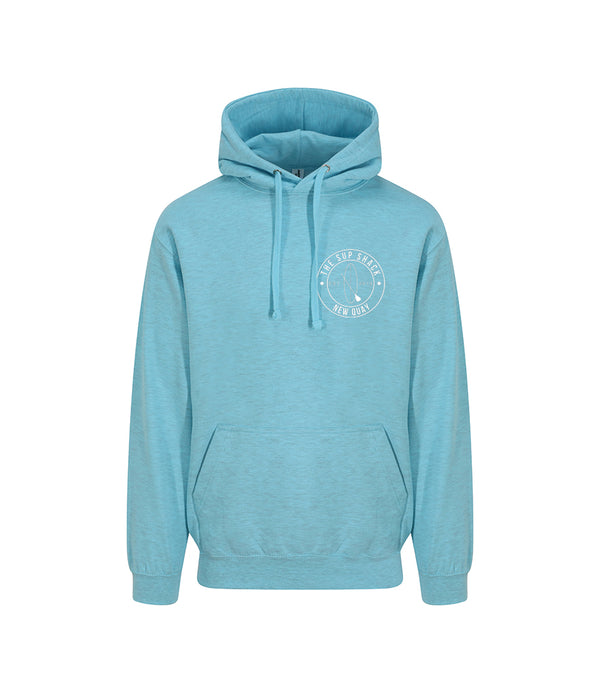 Surf Ocean with White Logo adults hoody