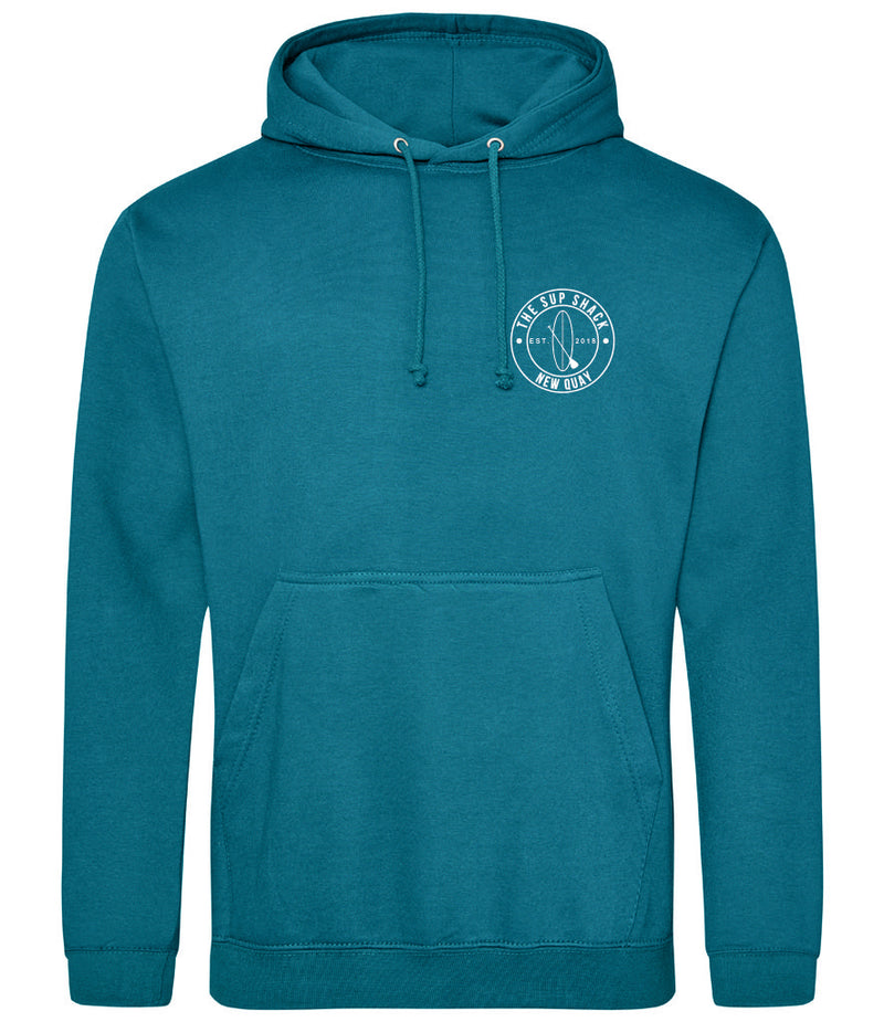 Jade with White Logo Adults Hoody