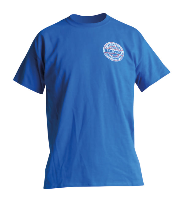 Sexwax Tee Whitewash Blue