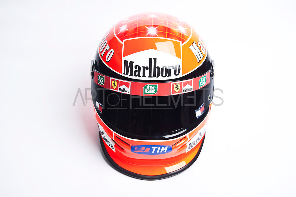 Michael Schumacher 2000 Full Size 1 1 Replica Helmet Art Of Helmets