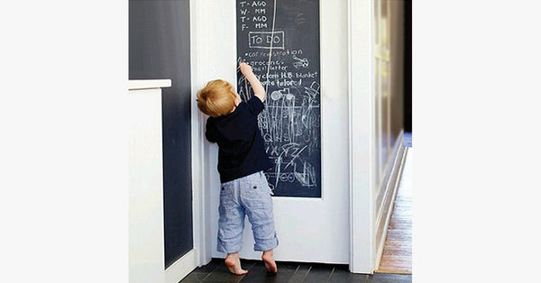 Creative Blackboard Wall Stickers With Chalks - FREE SHIP DEALS