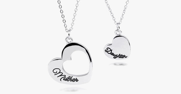 Mother Daughter Heart Set - FREE SHIP DEALS