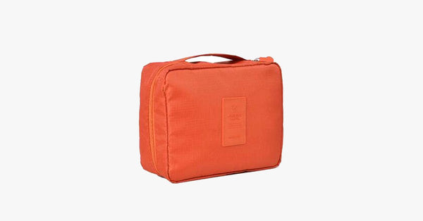 Compact Travel Cosmetic Bag - FREE SHIP DEALS