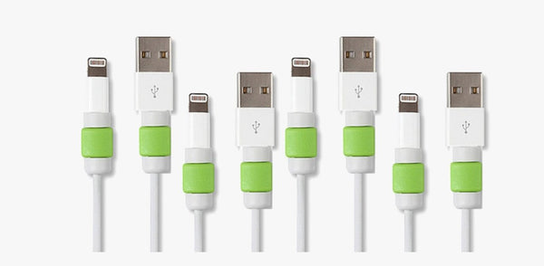 Lightning Cable Protectors - 6 Pack