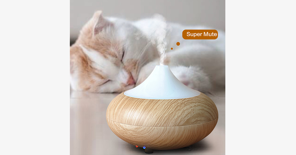 Aroma Diffuser With Color-Changing LED - FREE SHIP DEALS