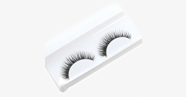 Dense Pair Of Smoky Eyelashes - FREE SHIP DEALS