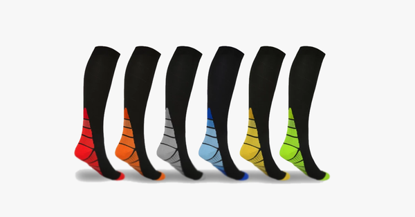 Unisex Sports Compression Socks 5-Pack