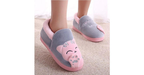 Plushy Soft Home Slippers