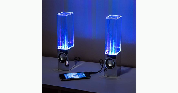 LED Dancing Water Speakers - FREE SHIP DEALS