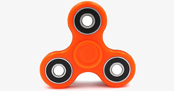 3-Pack: Fidget Hand Tri-Spinner Anxiety & Stress Reliever - FREE SHIP DEALS